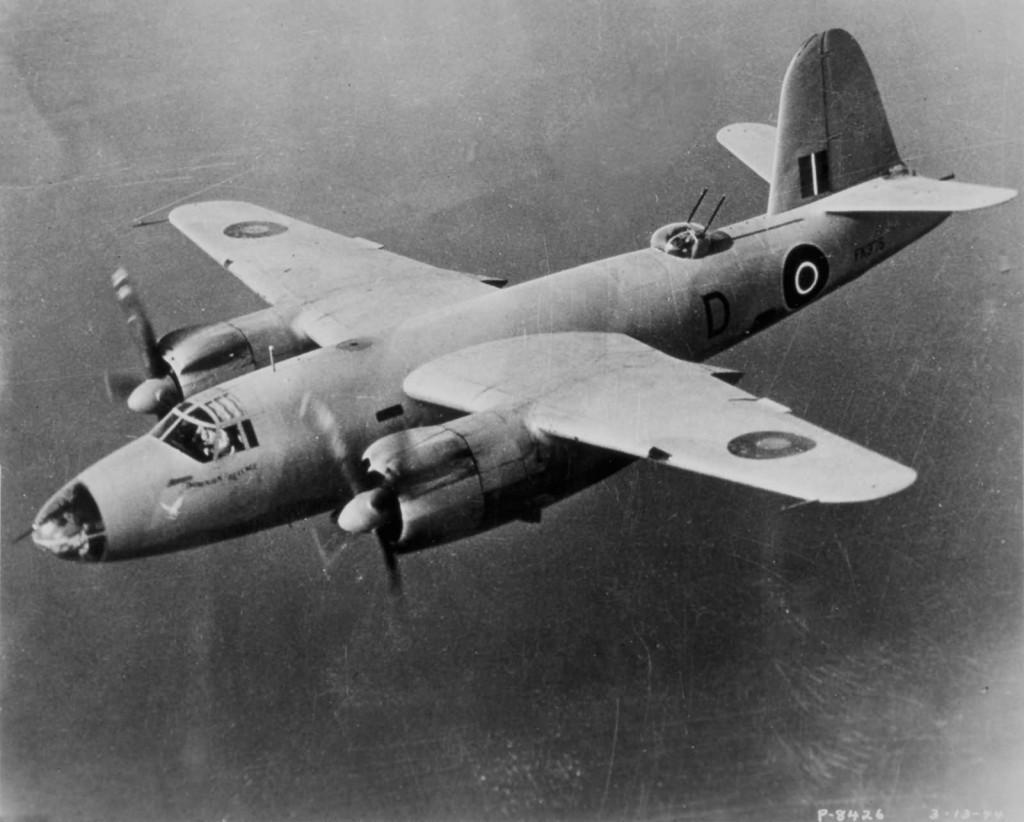 British_B-26_Marauder_Mk_IA_of_14_Sqn_RAF_FK375_1942
