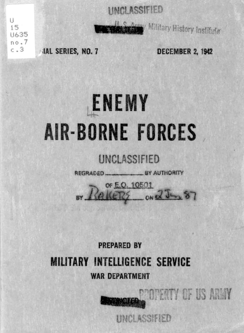 Enemy Airborne Forces