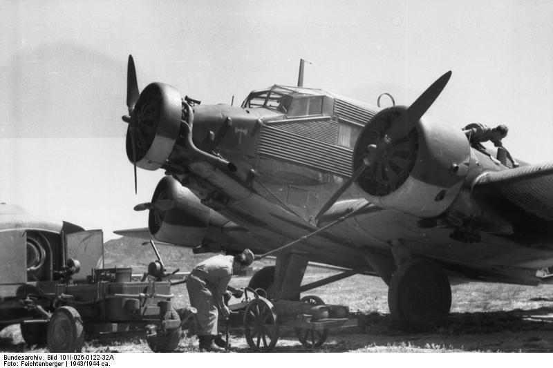 Griechenland, Kreta, Ju 52