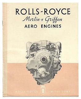 rolls royce merlin-griffon brochure