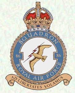 No.86 Sqn RAF