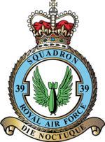 No.39 Sqn RAF